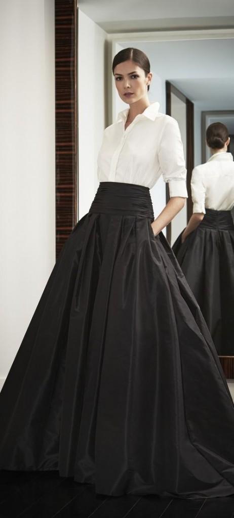 7. blanco-negro_alquiler vestidos_la más mona