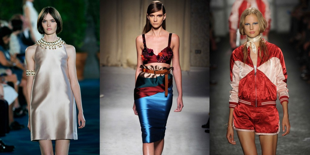 lustrous fabric