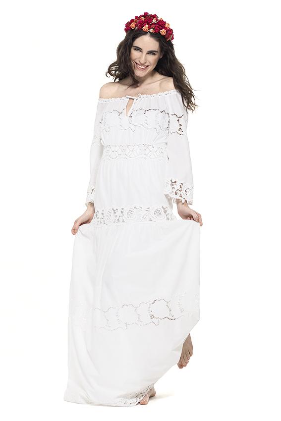 Vestido largo Ferretti
