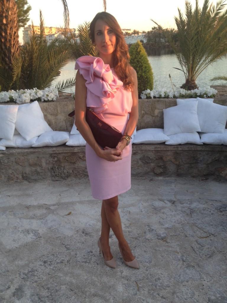 Vestido de La Mas Mona Pink Peony