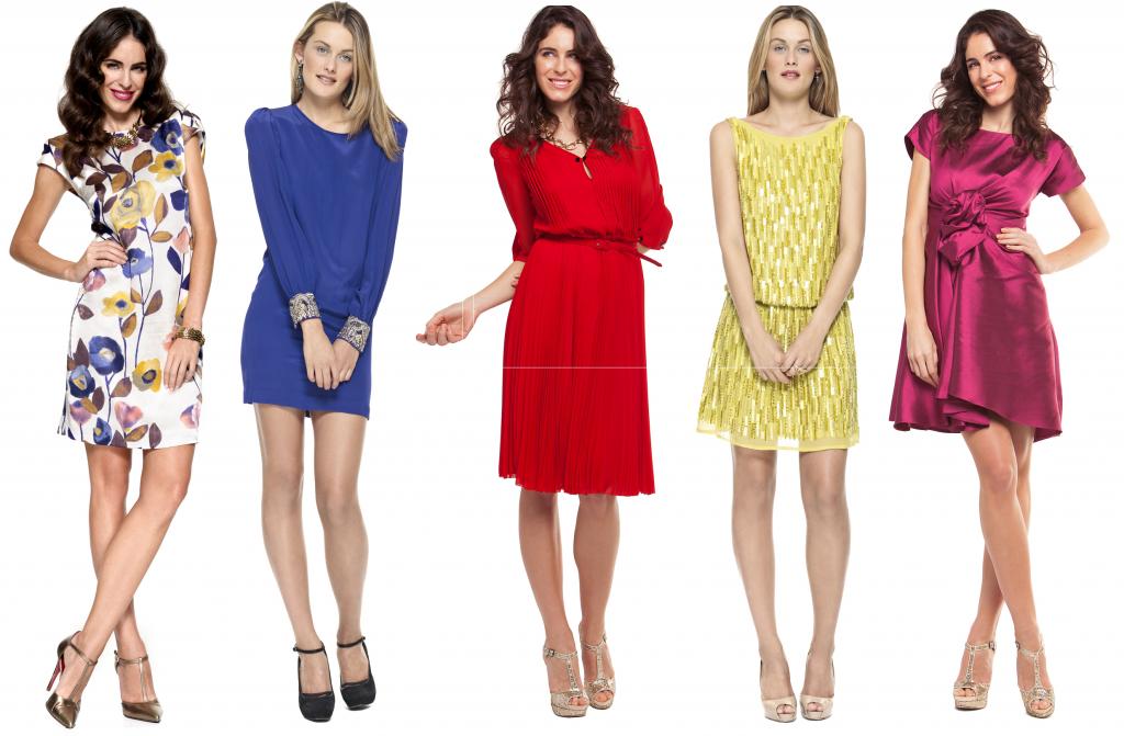 Vestidos cortos a la venta