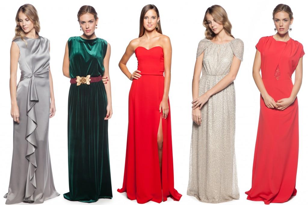 vestidos largos para fin de año