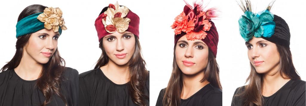 turbantes de terciopelo