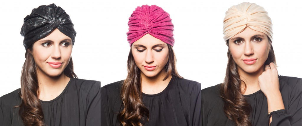 turbante lurex