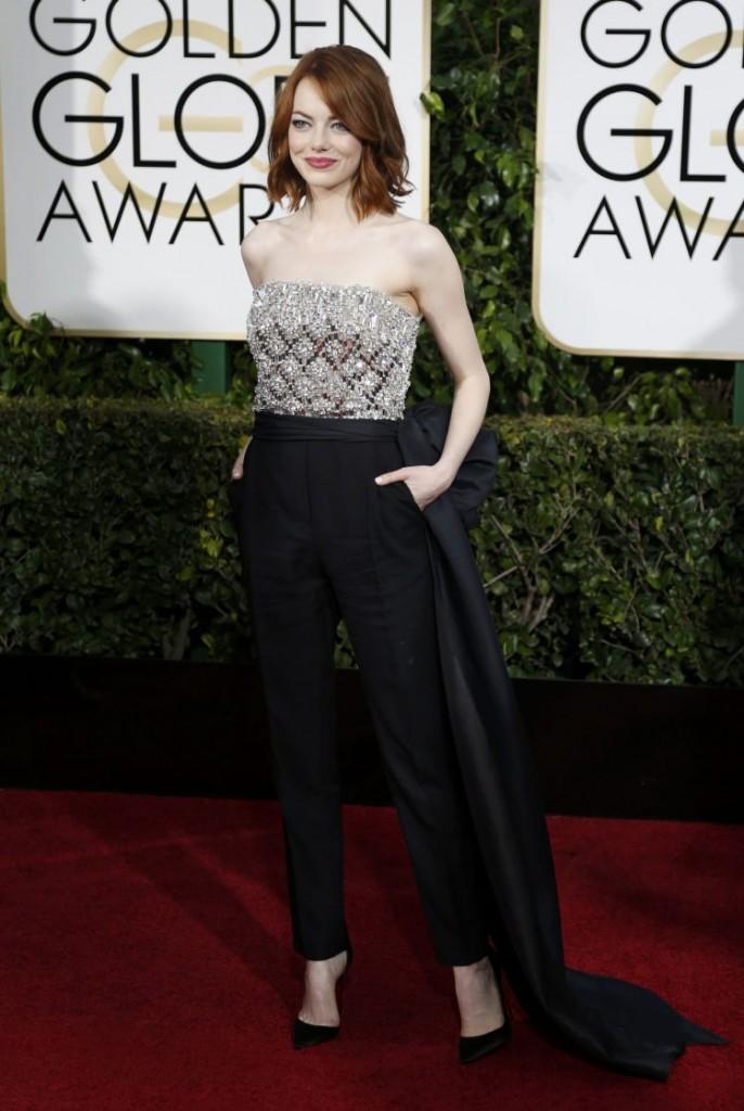 mejor vestida Emma Stone