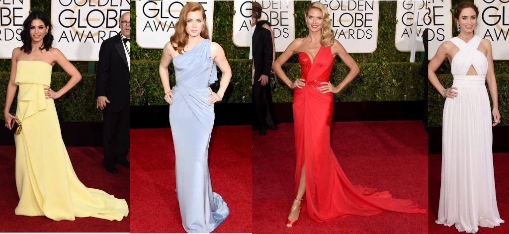 mejor vestidas golden globes 2015