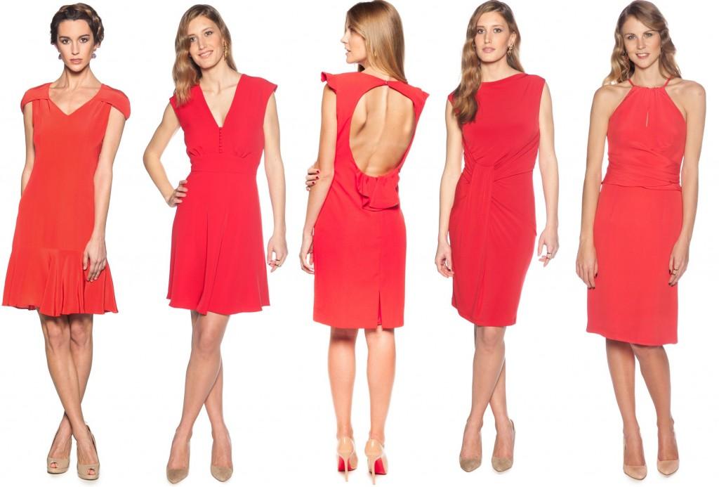 vestidos rojos feria
