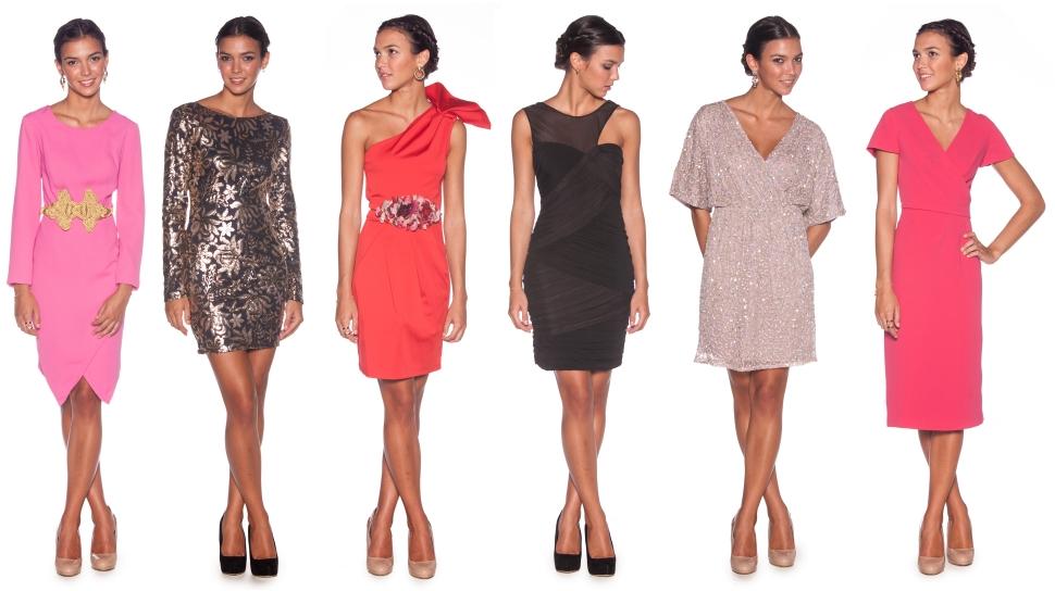 Vestidos cortos de alquiler en lamasmona.com