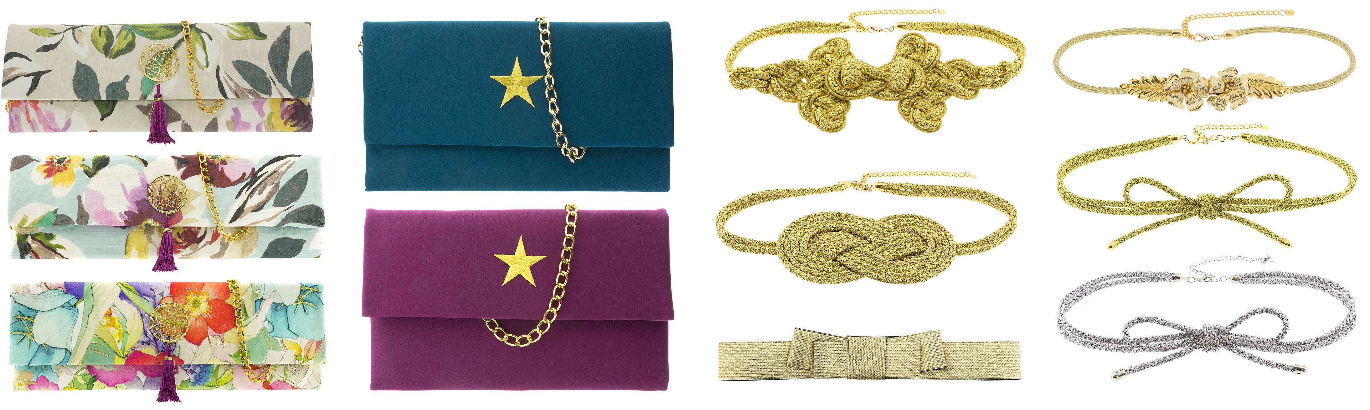 bolsos y cinturones para invitadas de lamasmona.com