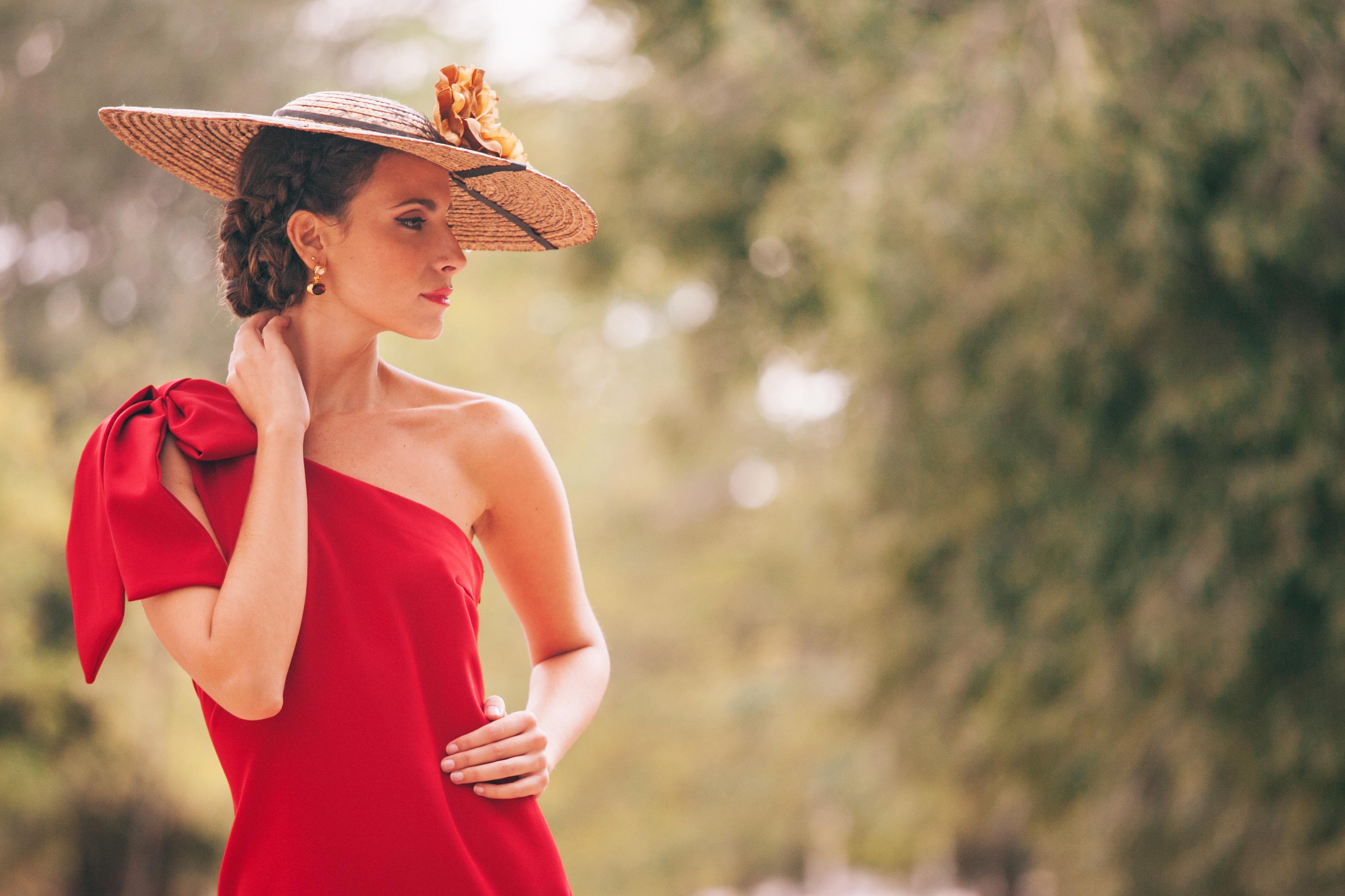 invitada de boda con total look de lamasmona.com