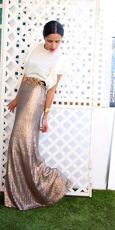 falda de lentejuelas lamasmona.com
