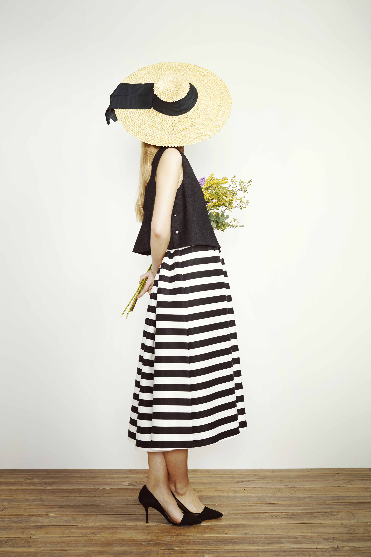 falda rayas lamasmona.com
