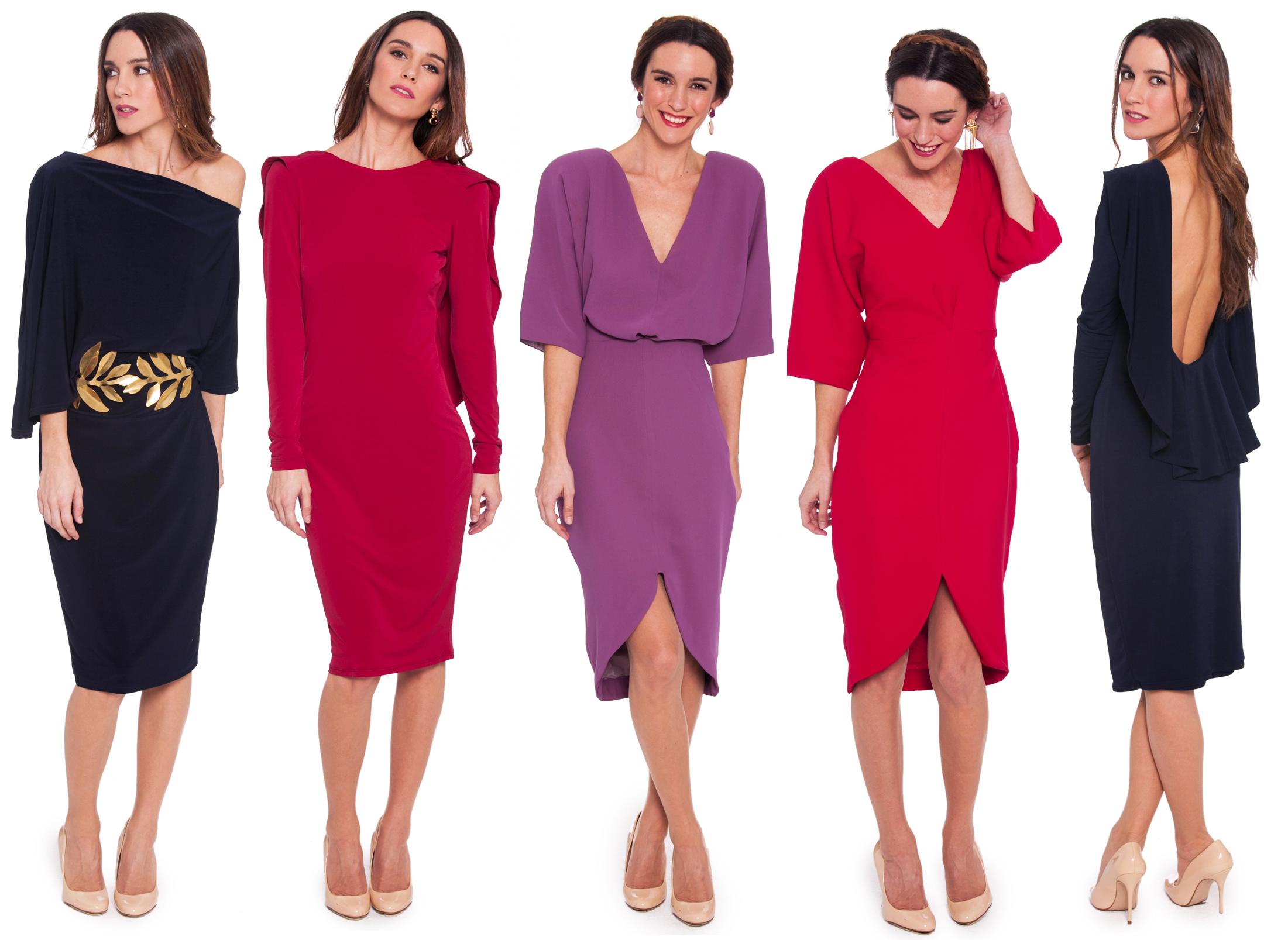 vestidos para invitadas de lamasmona.com