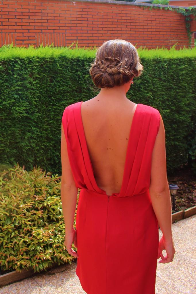 vestido con espalda al aire de lamasmona.com