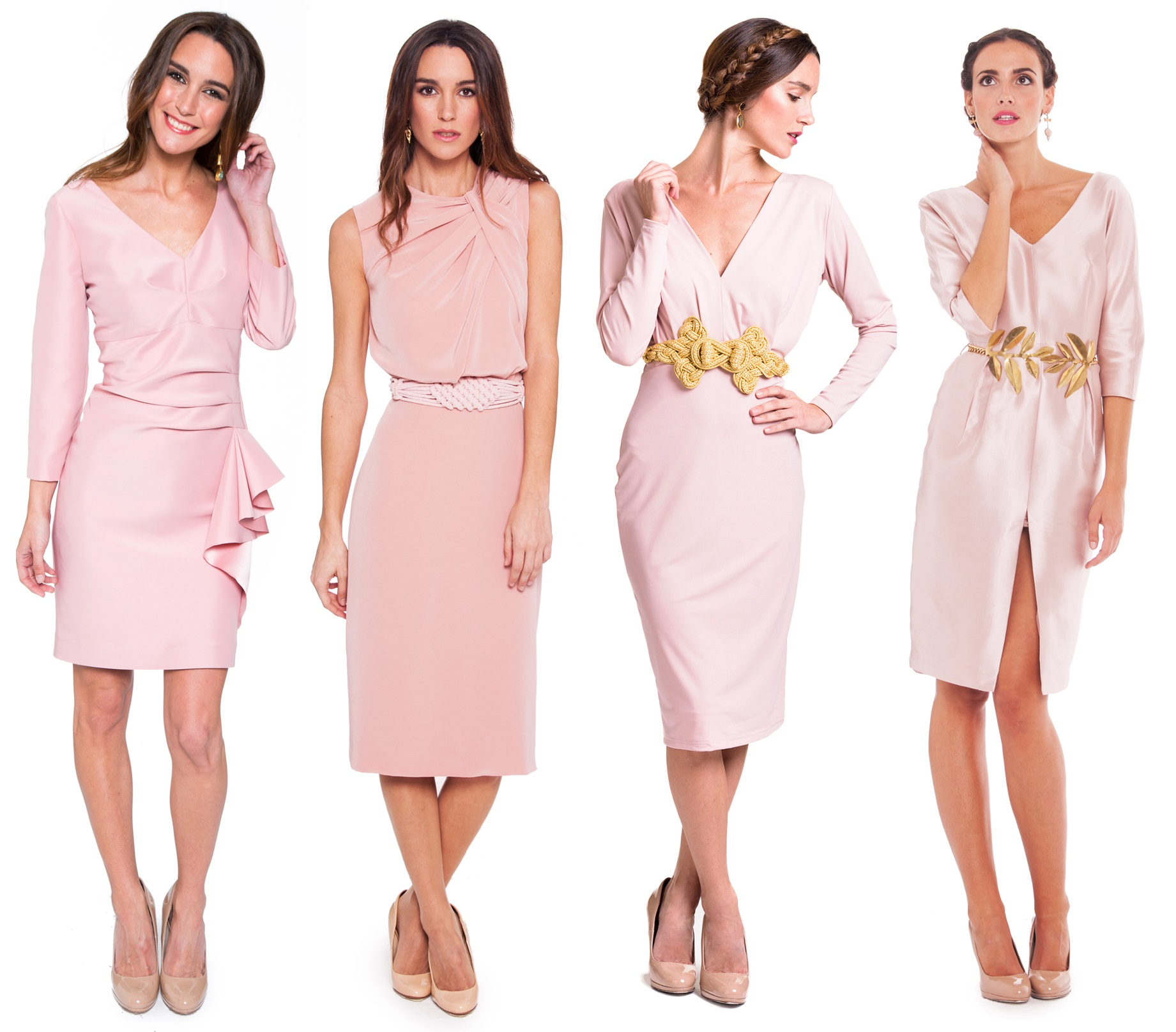 Rosa cuarzo para invitadas de boda blog la m s mona - Color rosa empolvado ...