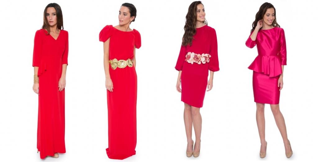 Vestidos rojos para La Mas Mona.com