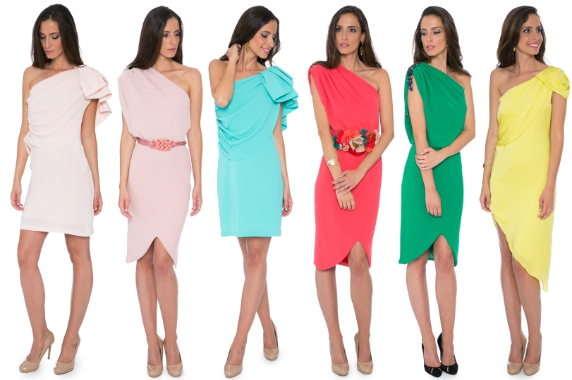 Vestidos asimétricos de La Mas Mona.com
