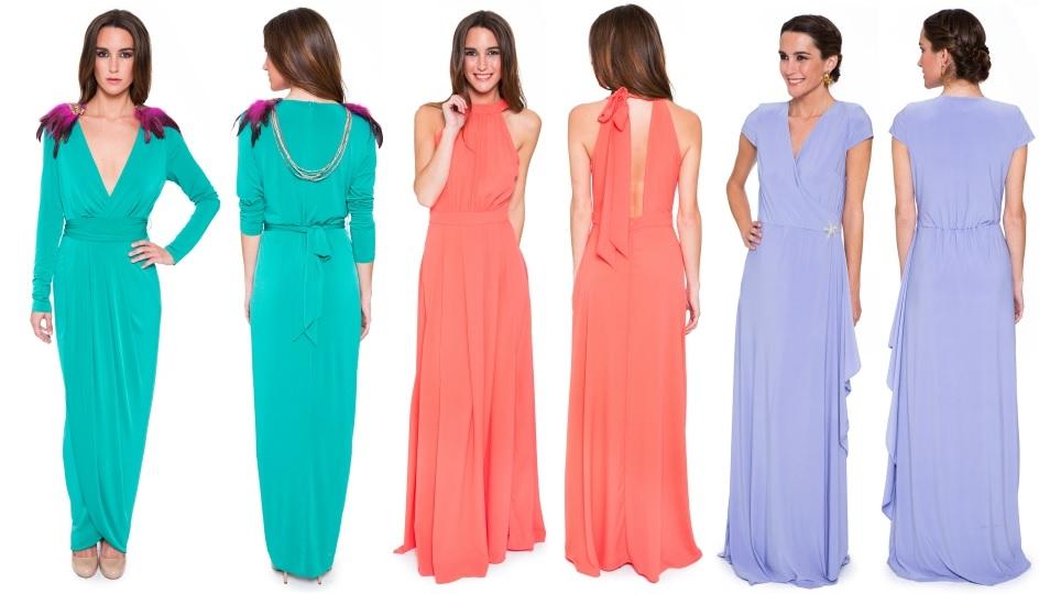 Vestidos largos para La Mas Mona.com