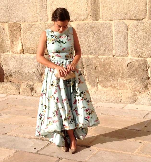Vestido estampado de La Mas Mona.com
