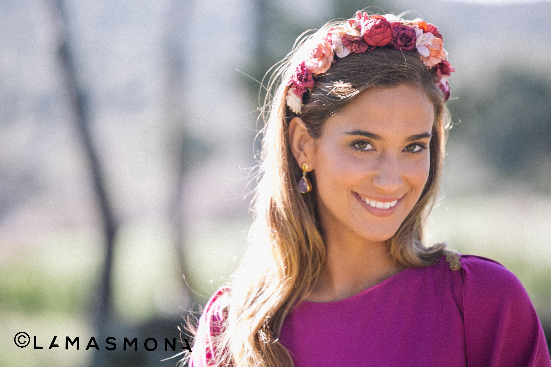 Maria Pombo con total look de lamasmona.com