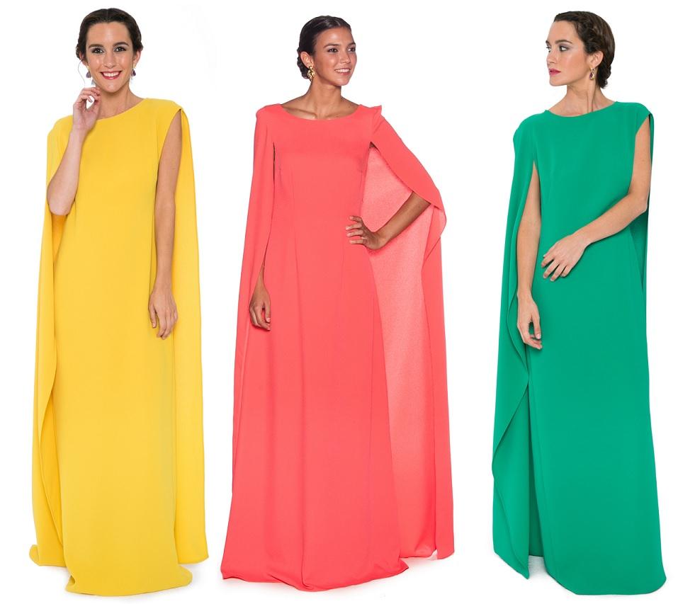 Vestidos capa para La Mas Mona.com