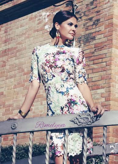 Maria Jose Suarez con vestido para La Mas Mona.com