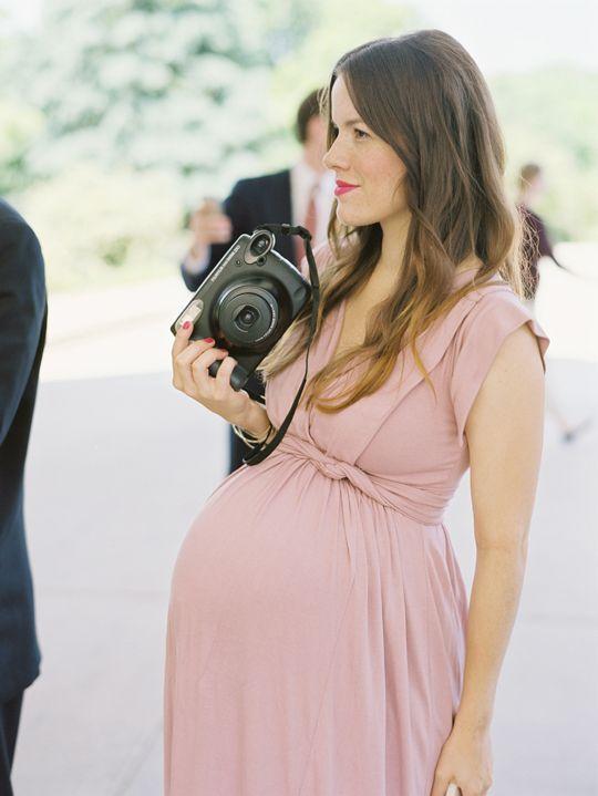 Vestidos de embarazada para ir a una boda