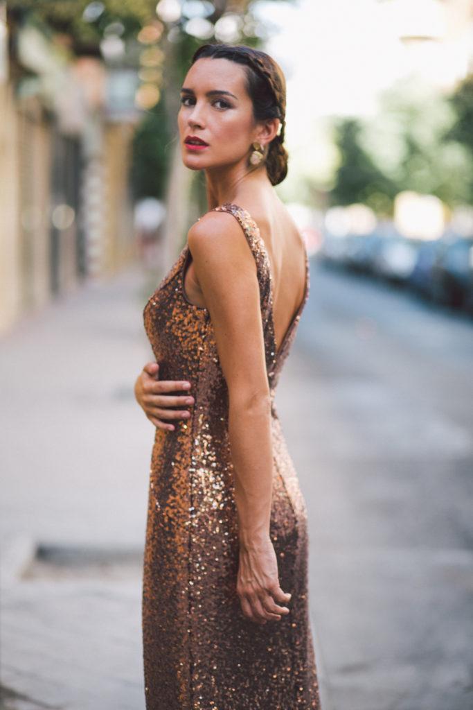 vestidos largos de La Más Mona