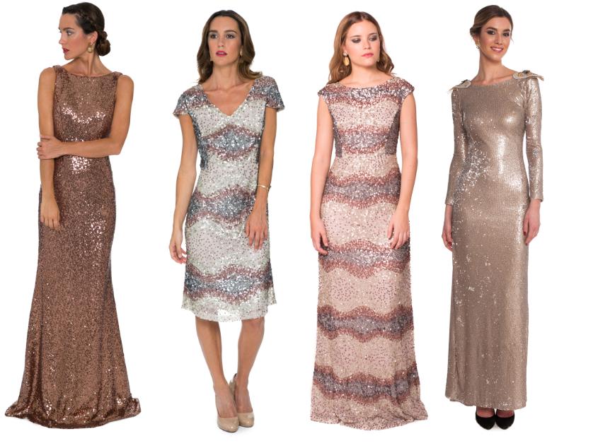 paillettes vestidos