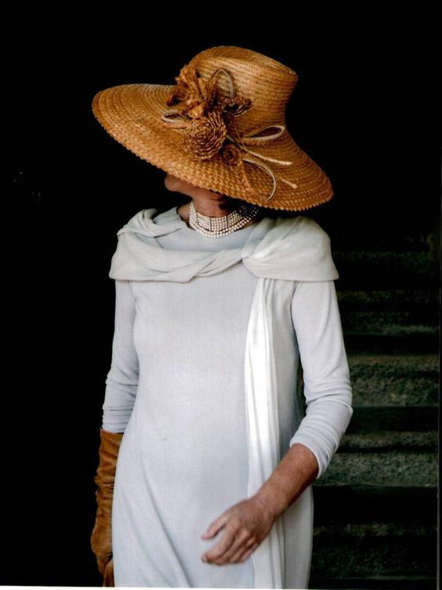 madre de la novia elegante