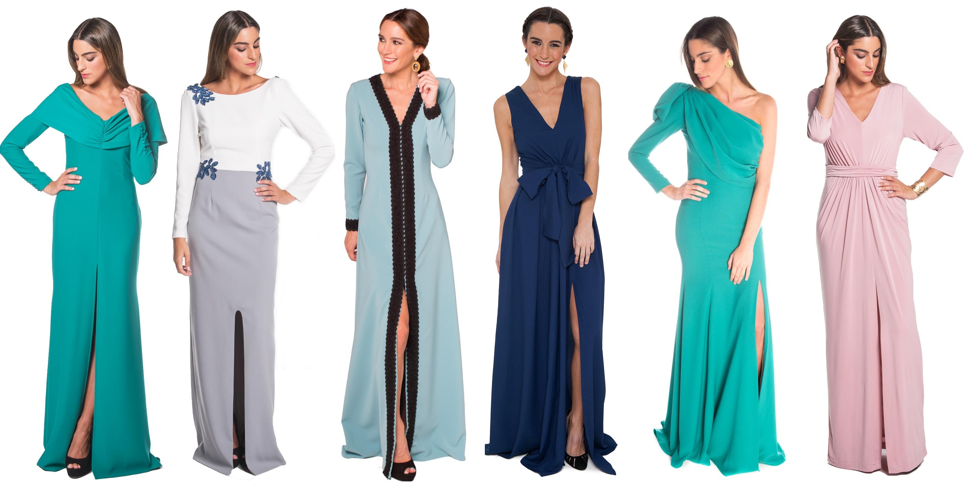 vestidos largos para madrina lamasmona