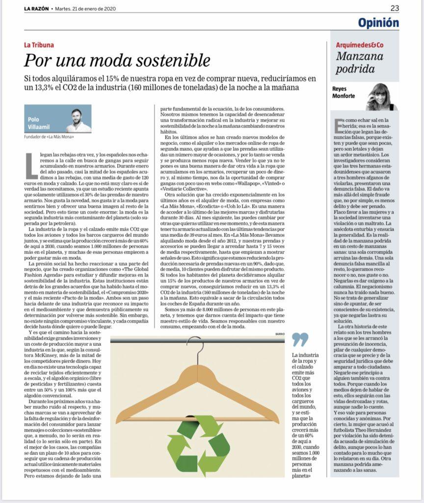moda sostenible la razon lamasmona